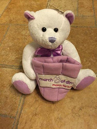 March of Dimes Easter Bear Plush Rare