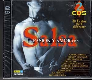 Salsa Pasion Y Amor Con - 30 Exitos Para Disfrutar