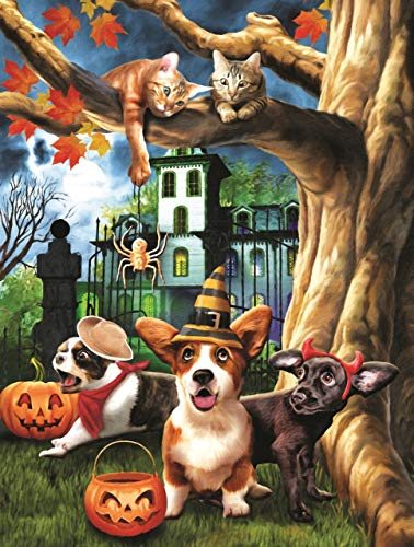 Halloween HiJinx 300 pc Jigsaw Puzzle by SunsOut for $<!--$12.99-->