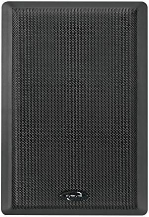 Dynavox WS-502 - Altavoces planos (40 W, 2 unidades), color negro