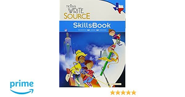 Great source write source texas skillsbook student edition grade 5 great source write source texas skillsbook student edition grade 5 great source 9780547395630 amazon books fandeluxe Gallery