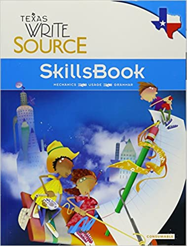 Great source write source texas skillsbook student edition grade 5 great source write source texas skillsbook student edition grade 5 1st edition fandeluxe Gallery