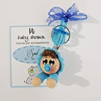 Paquete de 12 llaveros bebé Recuerdos de Baby Shower