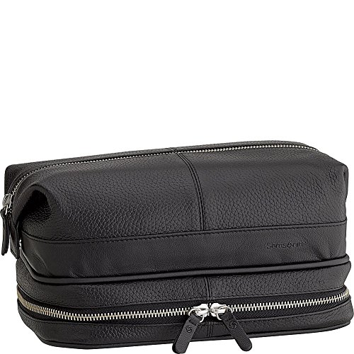 Samsonite- Leather Travel Accessories Serene Leather Toiletr