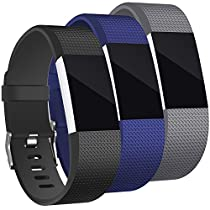 Hotodeal Band Compatible Charge 2 Bands, Replacement Wristbands Soft Silicone Accessory Sport Watch Strap, 12 Colors