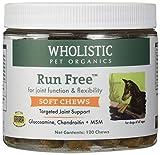 Wholistic Pet Organics 120 Count Run Free Soft Chews Supplement
