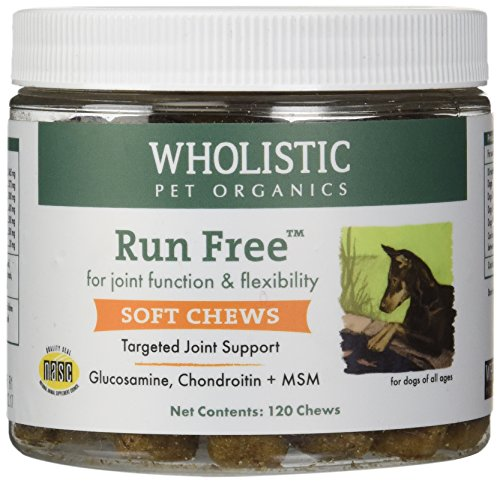 cs 120 Count Run Free Soft Chews Supplement (Soft Chews Free Joint Treats)