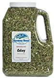 Dehydrated Celery (26 oz. Jug) - For Cooking, Camping, Hiking, Food Storage, Emergency Preparedness