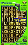 Hy-Ko Products MM-2 Self Adhesive Vinyl Numbers and Letters 1