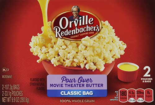 Orville Redenbacher's Gourmet Microwave Popcorn, Pour-Over, Movie Theater Butter, 2-Count (Pack of 6) (Orville Pour Over compare prices)
