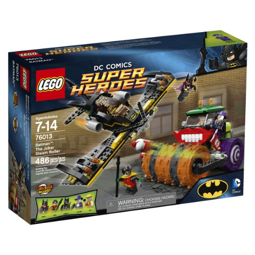 LEGO Superheroes 76013 Batman: The Joker Steam (Joker Superhero)