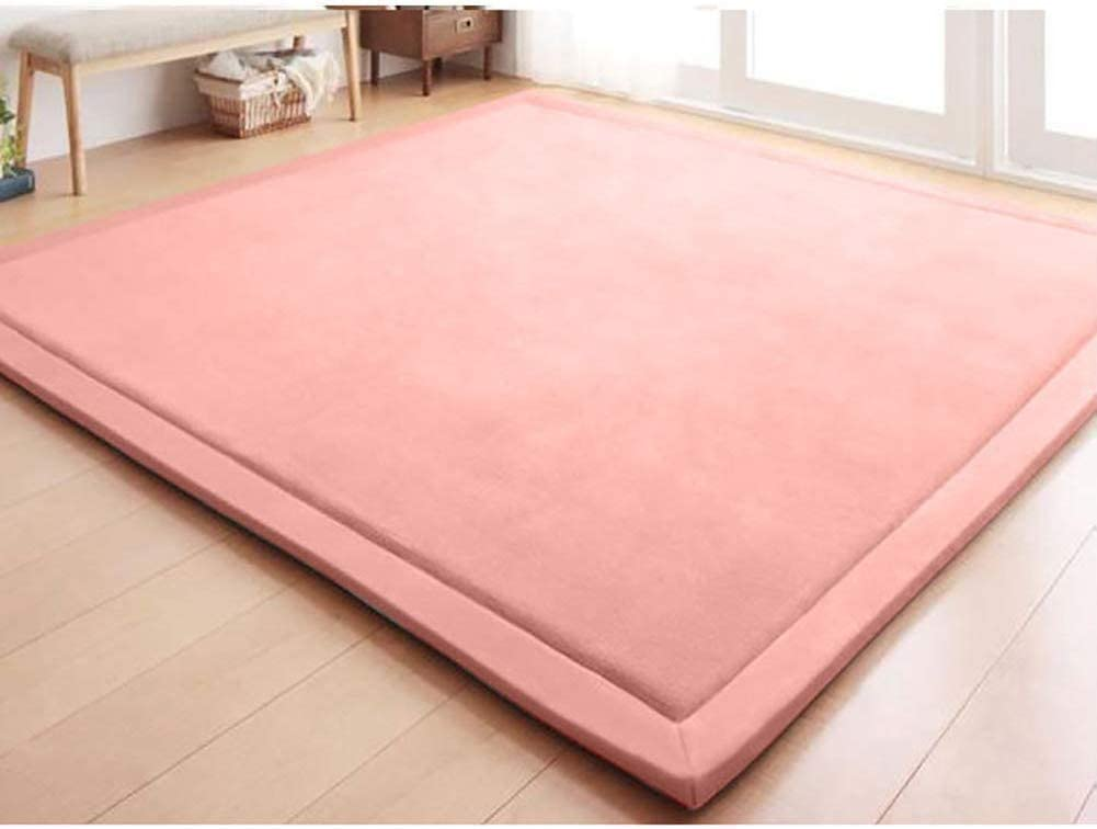 200x300cm ZHAS Coral Fleece Sleeping Tatami Floor Mat Tradicional fut/ón japon/és Colch/ón Topper Pad Yoga Mat Bed Topper-a 79x118inch ni/ños Crawling Blanket Coj/ín de Alfombra