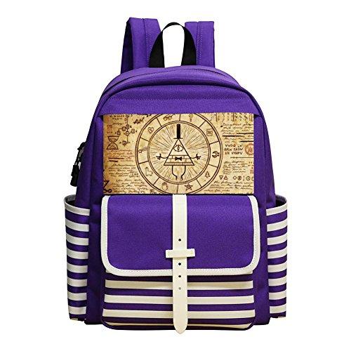 Gravity Falls Student Backpack School Bag Super Bookbag Break