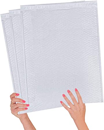 1000 #2 Poly Bubble Mailers Plastic Envelopes 8.5x12 Air Jacket Brand