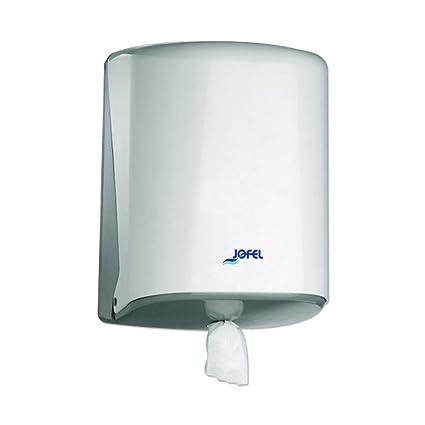 Jofel Azur Midi Caja de manchas y dispensador de papel de limpieza Color blanco plástico