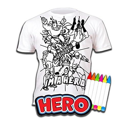 Héroe Impresión Planet Pintar NiñosCon Splat Para Camiseta Y NOvnwy0P8m