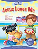 img - for Jesus Loves Me Story + Activity Book (Faith That Sticks Books) book / textbook / text book