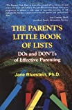 Parent's Little Book of Lists, Jane Bluestein, 1558745122