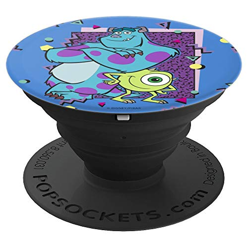 Disney Pixar Monsters University 90's Design - PopSockets Grip and Stand for Phones and Tablets