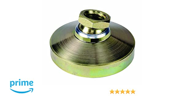 5//8-11 Thread Size TE-CO 44433 Leveling Pad Zinc Plated 2-Pack