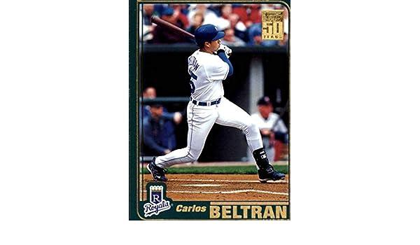 Amazon Com 2001 Topps Series 2 Baseball 680 Carlos Beltran