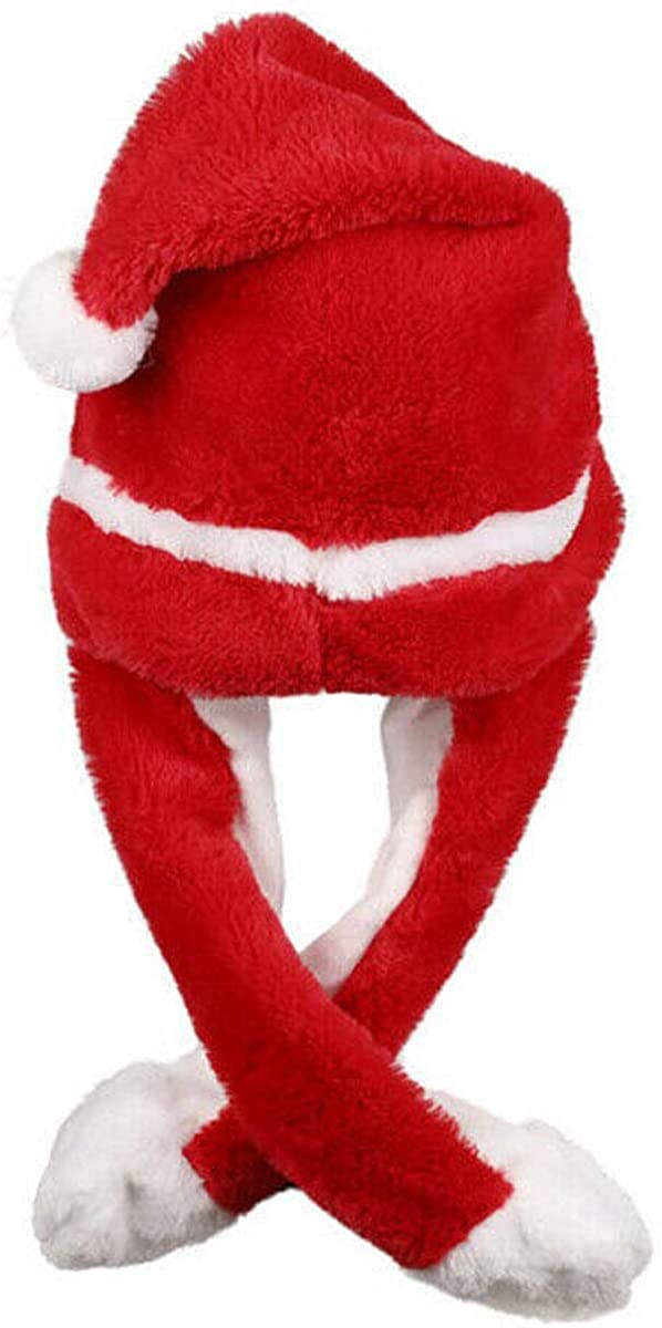 Funny Plush Bunny Hat Kpop Idols Moving Rabbit Ear Hat Cute Pop Up Ears Hat Toys Gift