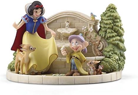 Lenox Snow White s Charming Garden Fountain, 4.45 LB, Multi