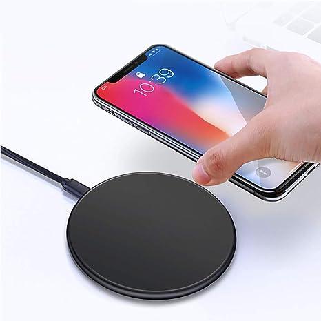 ZUZEN Cargador inalámbrico QI Estándar Smartphone 10W Potencia de ...