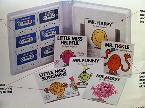 My Cassette and Book Collection (Mr. Men & little Miss & Mr. Men & little Miss)