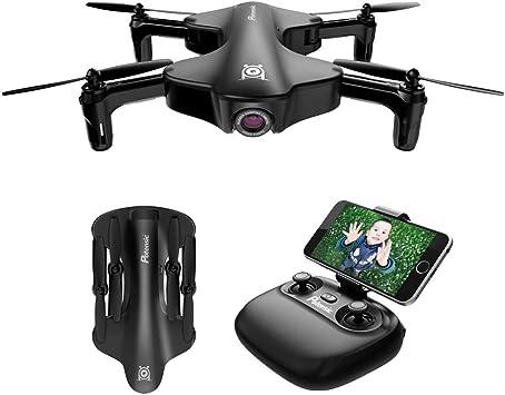 Droni GPS con fotocamera professionale 2K modalit/à senza testa e ritorno a casa drone telecomandato per adulti e bambini quadricottero FPV WiFi a 5 GHz con videocamera HD con modalit/à Seguimi