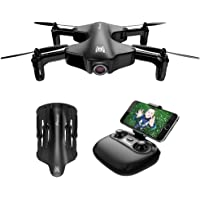 Drone Pieghevole con Telecamera Potensic Drone HD 720P WiFi FPV U29 Quadricottero Telecomandato con Funzioni Attesa dell'altitudine del Flusso Ottico, modalità Senza Testa, Sistema di Allarme