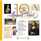 10 CHEFS-D'OEUVRE DE LÉONARD DE VINCI RACONTÉS AUX ENFANTS (LES)