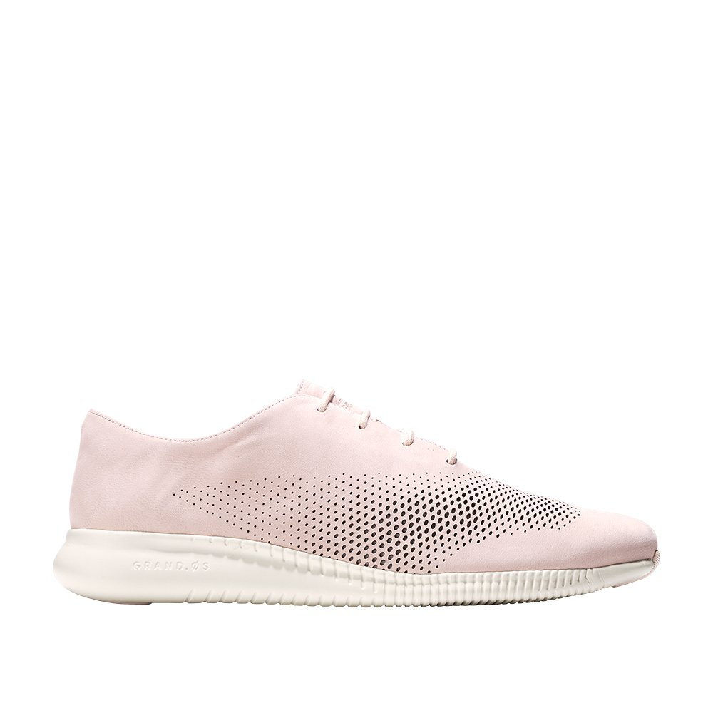 Cole Haan Women's 2.Zerogrand Laser Wing Oxford B079QGBYC9 10 C US|Peach Blush-ivory