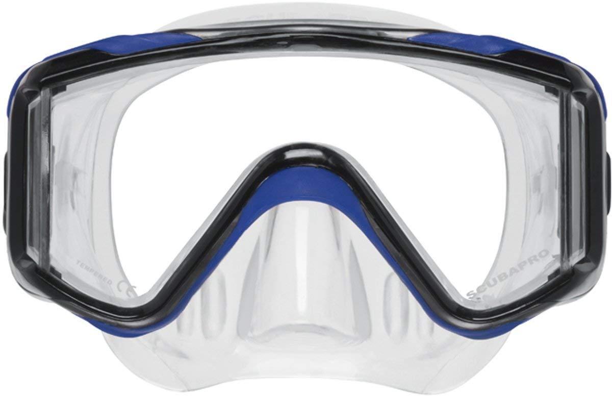 Scubapro Crystal VU-Plus Mask with Purge - Blue by SCUBAPRO
