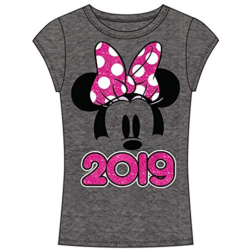 Disney Junior 2019 Dated Minnie Show Small Gray Tee