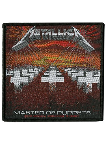 [해외]인형 패치 표준 메탈리카 마스터/Metallica Master Of Puppets Patch Standard
