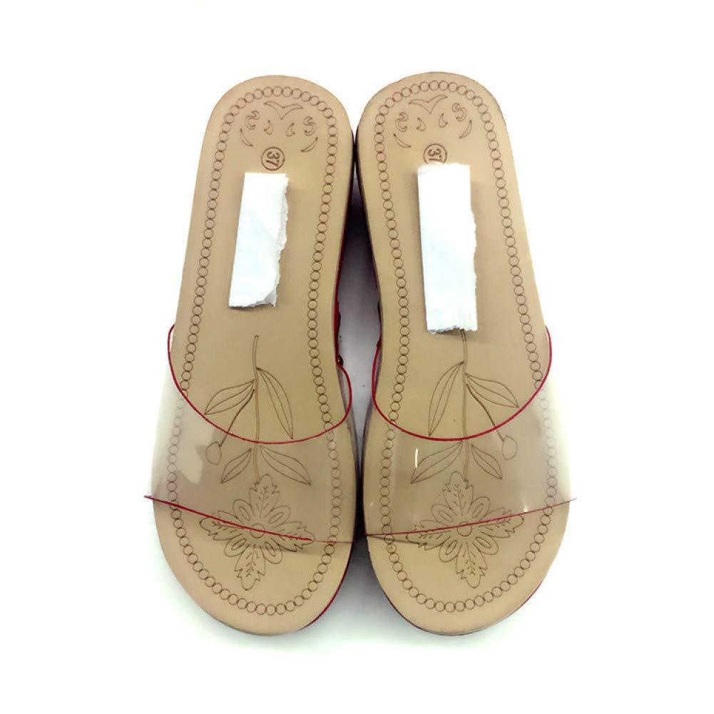 8 ZJHZJ Sandals Women's Summer Sequins AntiSlip Sandals Slipper Indoor & Outdoor FlipFlops