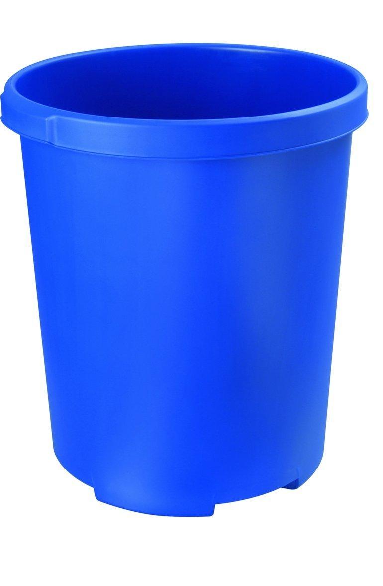 HAN 1836-14 Waste-Paper Bin 50 Litres Polypropylene Cone-Shaped 350 / 430 mm / 490 mm, 50 L Blue