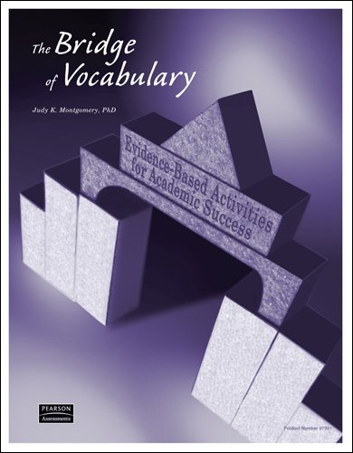 Bridge of Vocabulary : Evidence-Based Activities for Academic ...