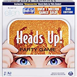 Spin Master Games Heads Up! Party Game, Fun Word Guessing Game for Families Aged 8 and Up (Edition May Vary)