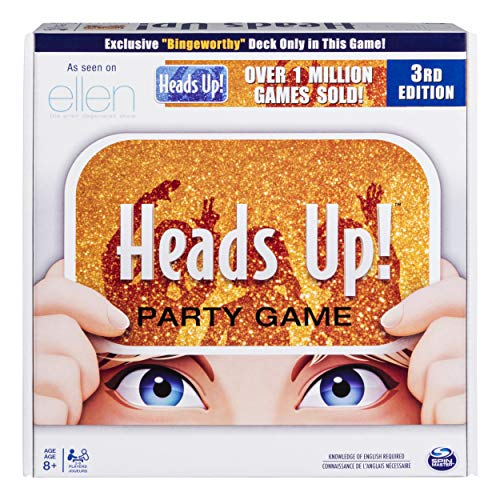 Heads Up! Party Game, Fun Word Guessing Game for Families, Ages 8 and Up (Edition May Vary)
