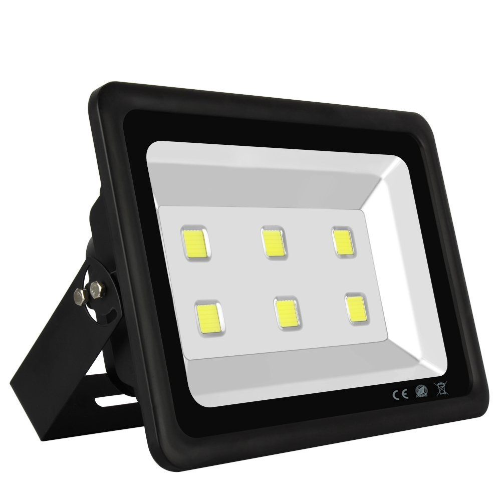 LAPUTA Brightest 6led 300watt Indoor Outdoor High Power LED Flood Light Cool White Waterproof Security Garden Landscape Floodlight spot Light 85v-265v AC