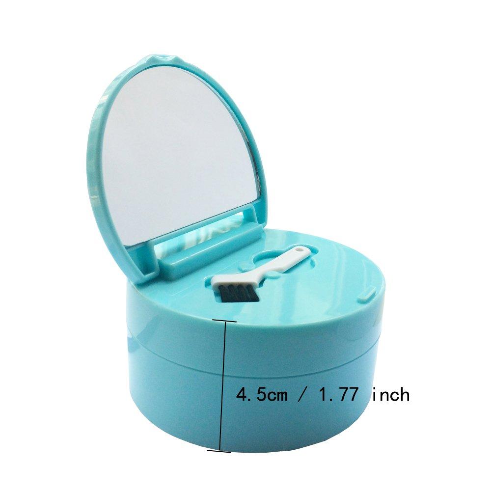 KNONGMAYI Easy Carry Waterproof Invisalign Retainer Denture Bath Appliance Denture Case by KNONGMAYI (Image #4)