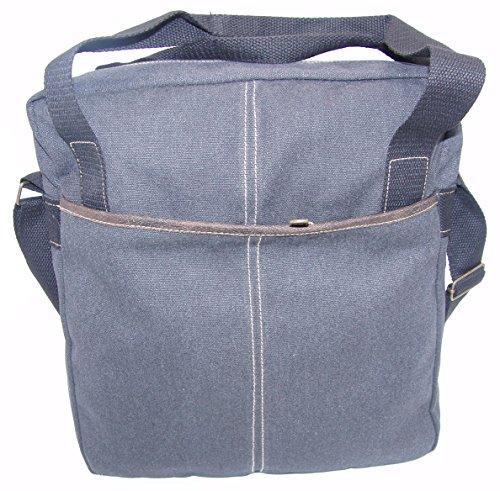 STEFANO Canvas Damentasche Vintage Herren Tasche Schultertasche Umhängetasche Handtasche Rucksack verschiedene Modelle M6 schwarz