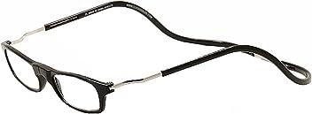 6b5fe30107 Clic Reader Eyeglasses Original XXL Black Full Rim Magnet. Reading Glasses  +2.25