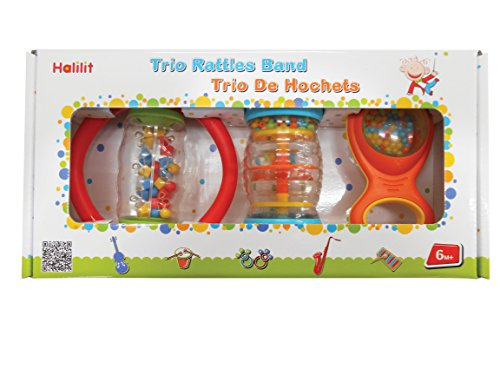 - Edushape Trio Rattle Band