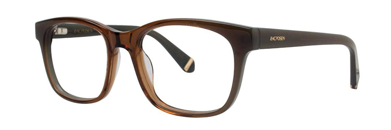 Zac Posen ZORA Brown Eyeglasses Size53-18-135.00 at Amazon ...