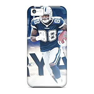 Protective Hard Phone Cases For Iphone 5c With Custom Beautiful Dallas Cowboys Image RichardBingley