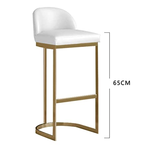 Admirable Amazon Com Barstools Backless Swivel Stool Nordic Bar Stool Dailytribune Chair Design For Home Dailytribuneorg