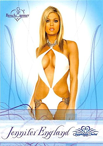 Jennifer England trading card (WWE Diva Search Transformers Bikini Model) 2009 Benchwarmers #47